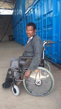 Wheelchair donation 3