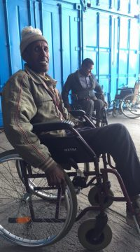 Wheelchair donation 4